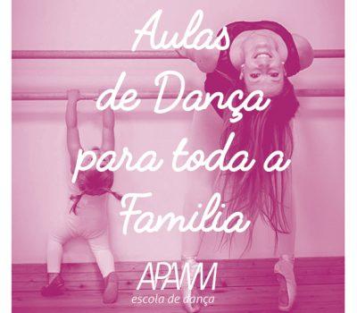 Aulas de Dança para toda a familia